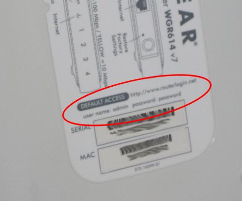 Wo findet man das Passwort des WLAN-Routers?